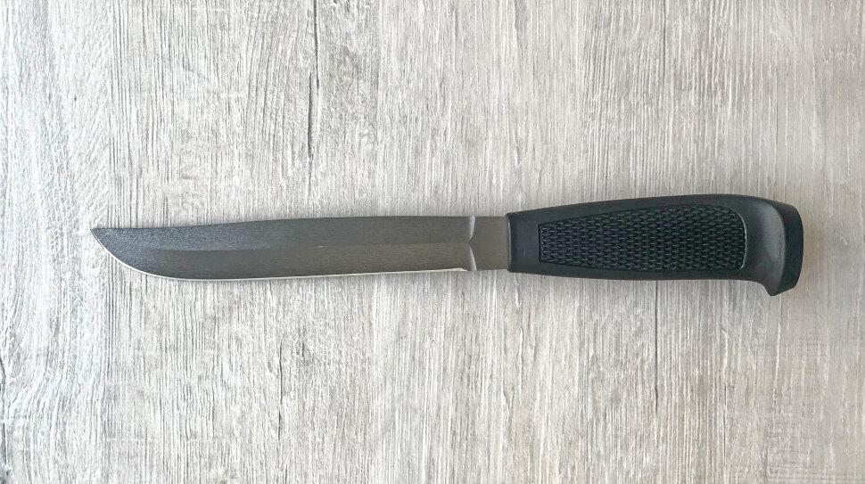 Финка Ромб №3, сталь х12мф, пластмасса (цвет черный)