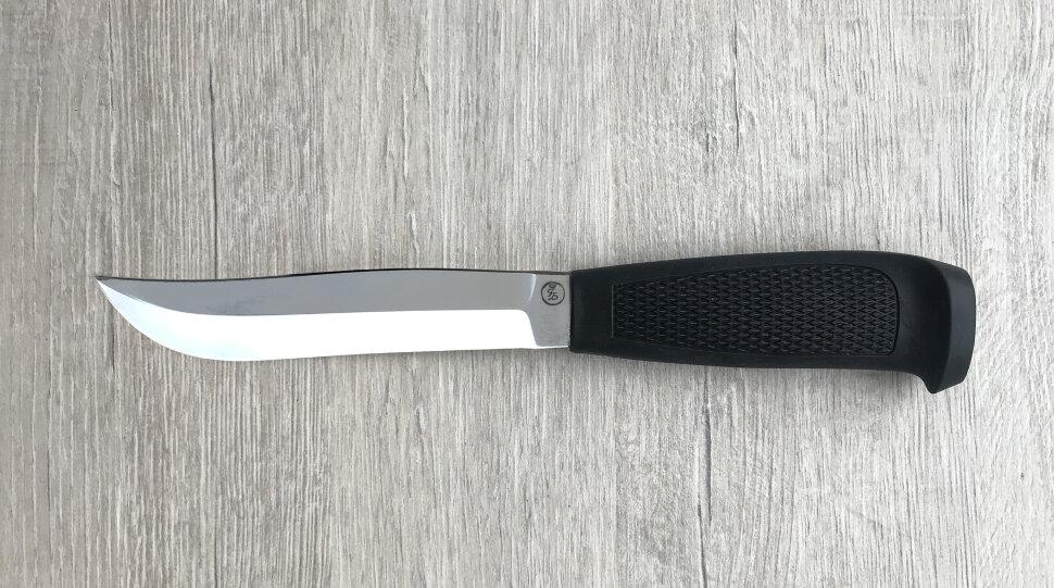 Финка Ромб №2, сталь 95х18, пластмасса (цвет черный)