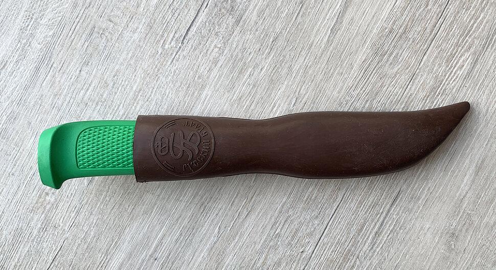 Чехол для ножа коричневого цвета (резинопластик)