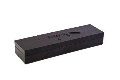 Коробка из бука под нож Автомат Калашникова