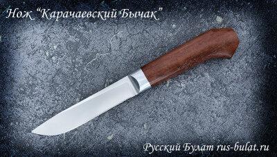 """Нож """"Карачаевский"""" (""""Бычак""""), клинок сталь 95х18, рукоять бубинга"""