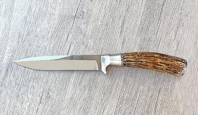 """Нож """"Егерский"""", клинок сталь У8, рукоять лосиный рог"""