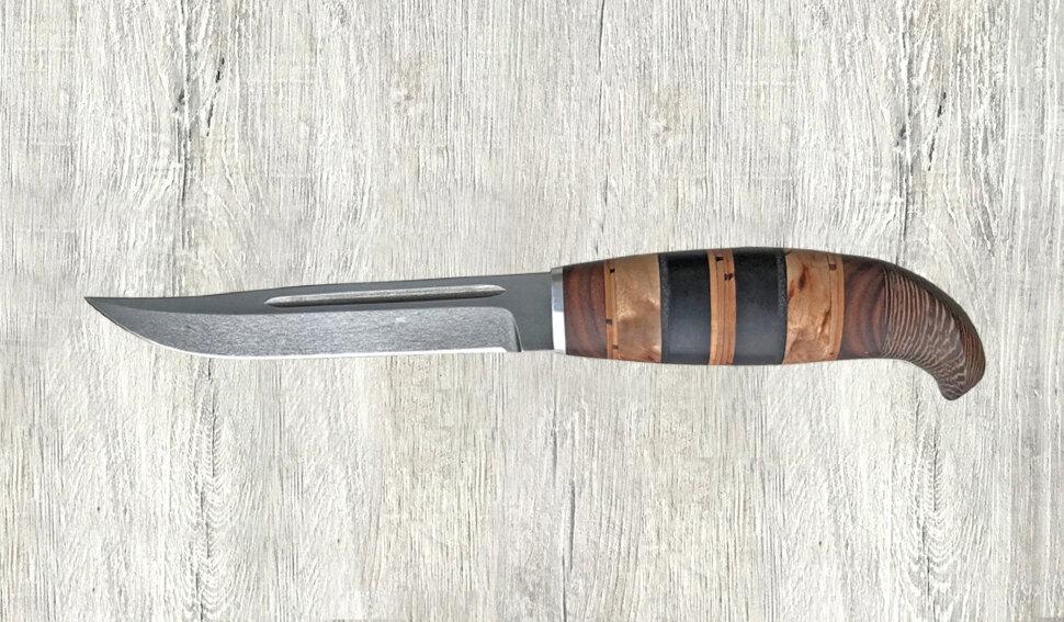 Финка Ф-006, сталь х12мф, наборное дерево